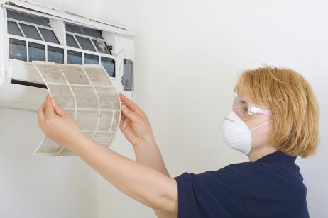 Limpeza ar condicionado