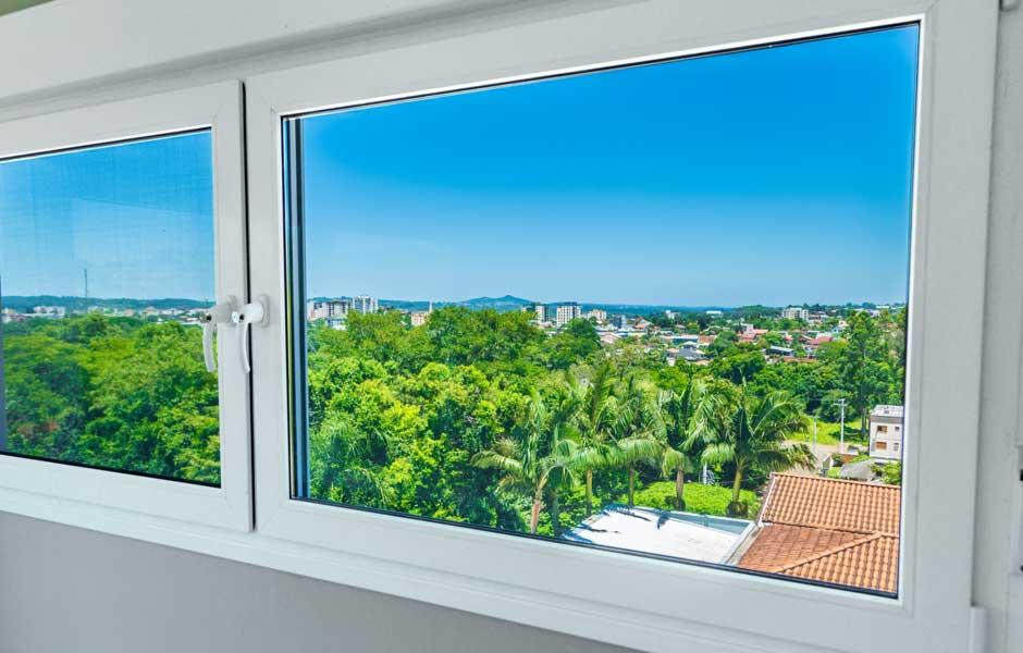 vista da janela de suite