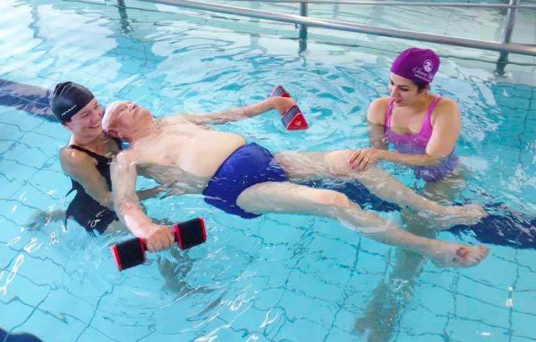 Hidroterapia no SerraVille