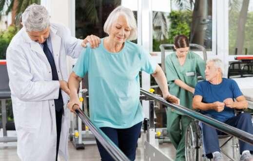 Fisioterapia e reabilitação na clínica geriátrica